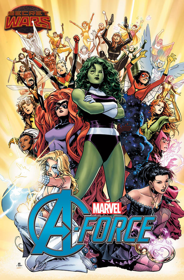 She-Hulk, Dazzler, Medusa and Nico Minoru are some of the characters that make up Marvel's A-Force.