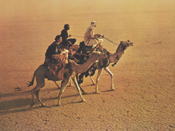 The sweeping, searing desert vistas in <em>Lawrence of Arabia </em>will make you feel many things — cold not among them.