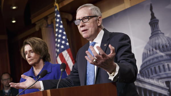 """""""It is a waste of time. We will not allow a conference to take place. It won't happen,"""" Senate Minority Leader Harry Reid said Thursday about the possibility of the two chambers reconciling Department of Homeland Security funding bills."""