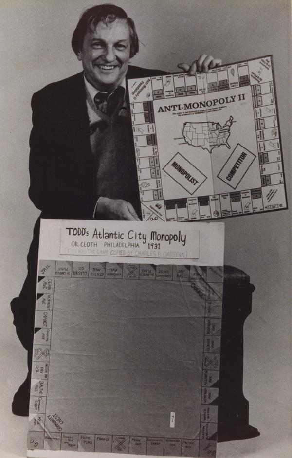 In his lawsuit, Ralph Anspach used early, pre-Parker Bros. boards as evidence of Monopoly's controversial origins.