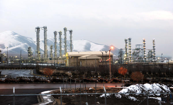 Iran's heavy water production plant in Arak, Iran, in 2013. This is one of the country's many nuclear facilities, which are spread throughout the country. Iran says it will never abandon its nuclear program despite international pressure.