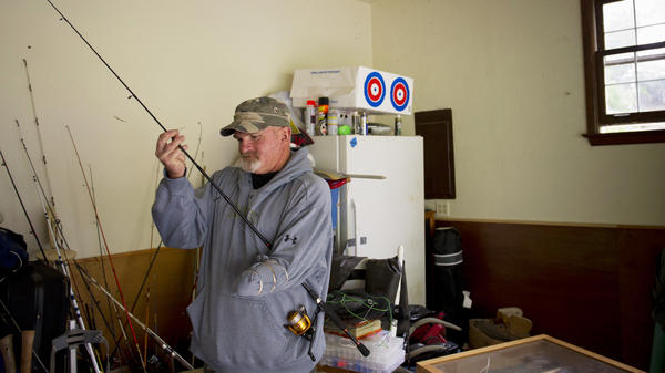 Dennis Whedbee, 52, lost half of his left arm in a drilling accident in North Dakota in September 2012. Several years later he's still fighting with North Dakota's insurance agency to get the help he needs.