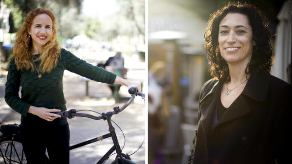 Stav Shaffir, 29, left, is considered a rising star in the left-leaning Labor Party. Anat Roth, 40, is a candidate for the Jewish Home Party.