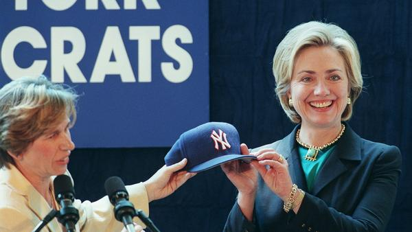 Being the odds-on favorite can carry its own burden — something understood by both the Yankees and Hillary Clinton (shown here in 1999, when she was first lady).
