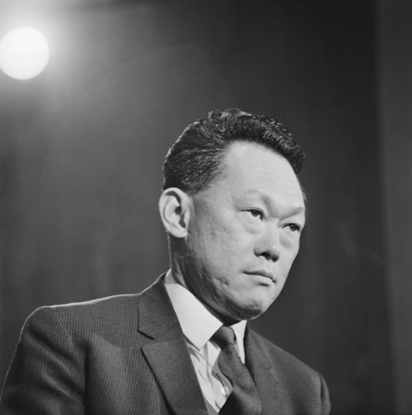 Prime Minister of Singapore Lee Kuan Yew on Jan. 5, 1969.