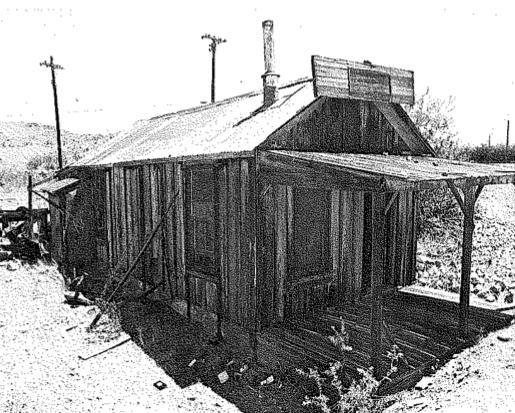 Harry Reid's childhood home in Searchlight, Nev.