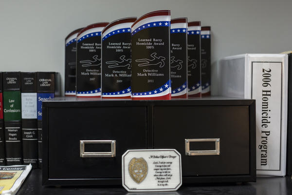 Williams' numerous awards for clearing his homicide cases. Richmond, Va., was one of the stars of a 2013 federal report identifying police departments with the best practices.