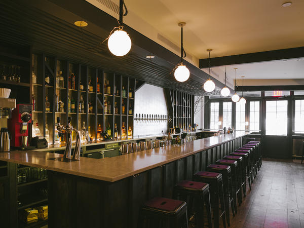 The Wassail cider bar, which recently opened in New York City, offers a dozen ciders on tap and another 80 or so in bottles.