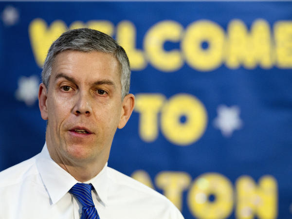 The Education Department, headed by Secretary Arne Duncan, says it's keeping a close eye on 556 colleges and universities that do a poor job of complying with federal regulations and handling federal financial aid.