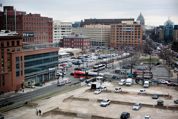 The H Street Wal-Mart in Washington, D.C. Ten years ago, none of Washington's 600,000 residents lived within 1 mile of a Wal-Mart. Today, almost 13 percent do.