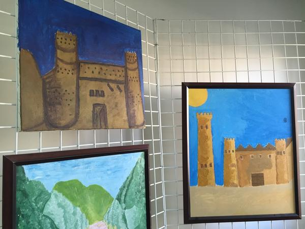 "Many inmates draw pictures of castles. Al-Yami, the art therapist, interprets them to mean, ""I'm not going to give you any information. I'm behind the wall and you can't get through."""