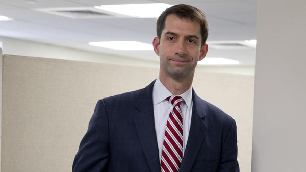 """Sen. Tom Cotton, who orchestrated a letter to Iran's leaders disapproving of any potential deal with their country, called the president's underlying assumptions in making a deal """"wishful thinking."""""""