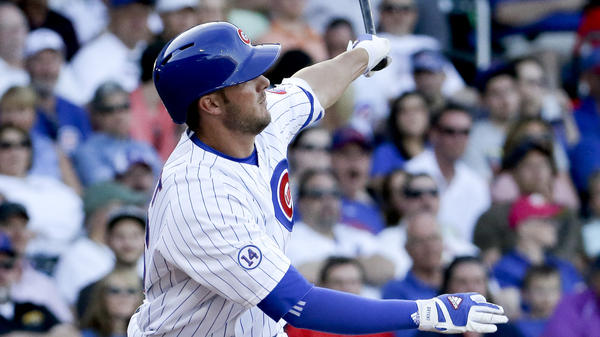 Top prospect Kris Bryant of the Chicago Cubs will bat fourth in his debut Friday against the San Diego Padres. Bryant hit 43 home runs in the minors last season.