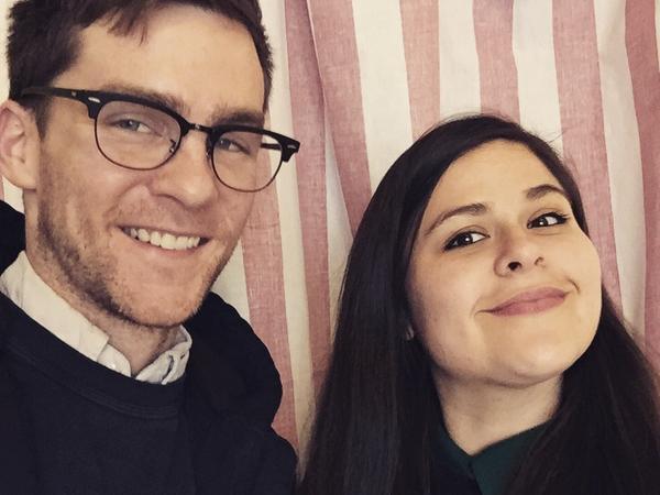 Matt Harkins and Viviana Olen