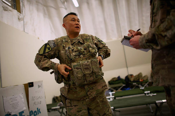 Brig. Gen. Viet Luong of the 1st Cavalry Division came to the United States in the 1970s after his family fled Vietnam in the waning days of the war there. He's now leading the effort to train Afghan soldiers to fight the Taliban.