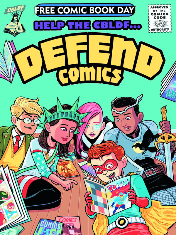 <em>Help the CBLDF Defend Comics</em>