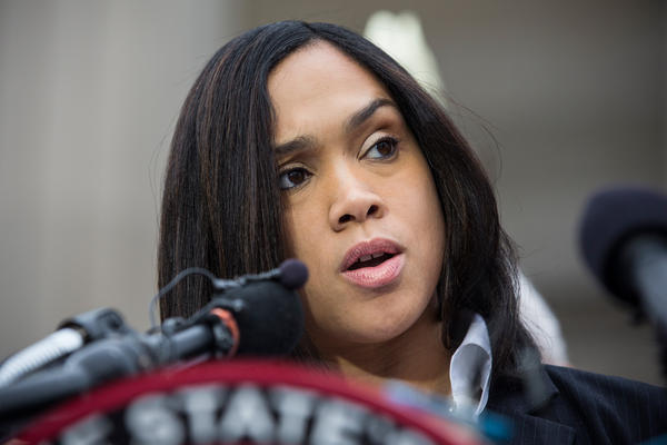 Baltimore City State's Attorney Marilyn J. Mosby announces that criminal charges will be filed against Baltimore police officers in the death of Freddie Gray in Baltimore on Friday. Gray died in police custody after being arrested on April 12.