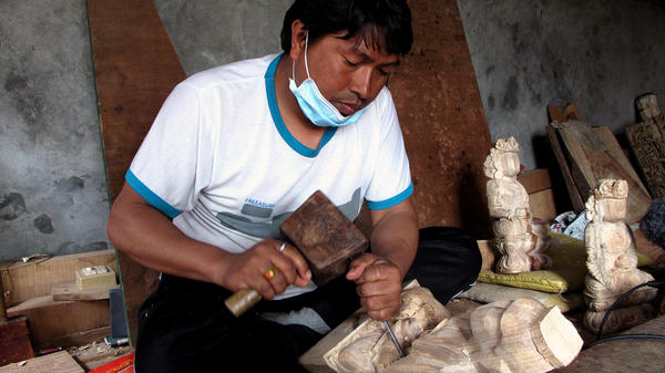 Master carvers like Ratna Muni Brahmacharya are in a position to play a key role in restoring Nepal's many damaged temples and monuments.