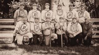 The Dirigo Vintage Base Ball Club in Maine.