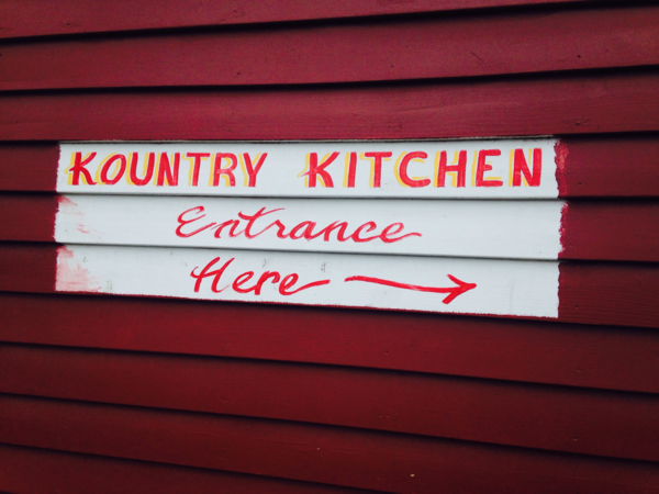 The Kountry Kitchen in Indianapolis serves soul food. (Peter O'Dowd/WBUR)