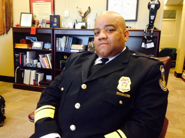 Indianapolis Police Chief Rick Hite blames the murders on the same kind of drug crimes that New York and other major cities went through in the 1980s. (Peter O'Dowd)