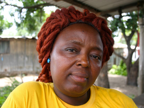 """Caroline Williams is a community organizer in New Kru Town, a suburb of Monrovia. Here's how she got her message through to Liberians about preventing Ebola: """"We talk to them, talk to them, talk to them. At last they started listening to us. All the methods that we been giving them, by God's will, they accepted."""""""