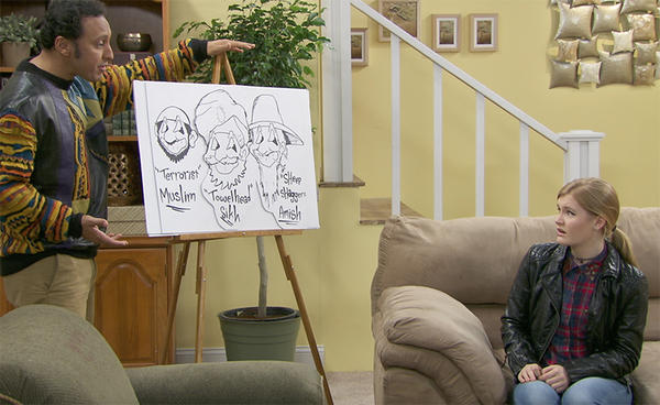 """""""Halal in the Family"""" is a web series about a Muslim family in America. (Sweet 180)"""