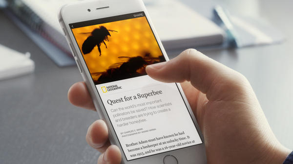"Nine media organizations, including <em>The New York Times</em> and <em>National Geographic</em>, have signed a deal to distribute their content through a new Facebook feature called ""Instant Articles."""