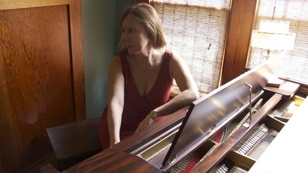 Iris DeMent recorded <em>The Trackless Woods</em> at her home in Iowa.