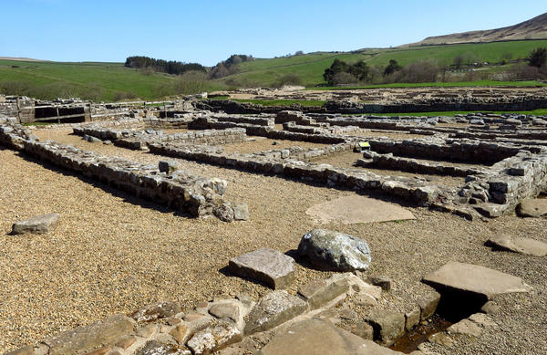During its time, Vindolanda was demolished and rebuilt at least nine times. It was finally abandoned in the 9th century.