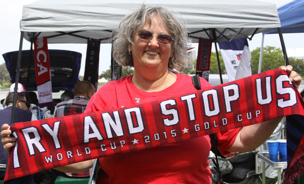 Linda Pickle, 65, is such huge a U.S. women's national team fan that she had her daughter change her wedding date so it wouldn't coincide with the World Cup final in 1999.