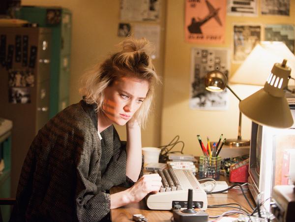 Actress Mackenzie Davis plays an '80s punk software developer in AMC's <em>Halt and Catch Fire</em>. The second season premieres May 31.