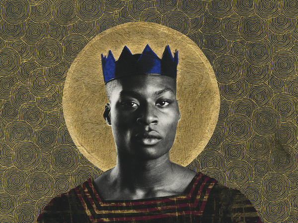 "Photographer Gabriel Garcia Roman's ""Queer Icons"" series portrays queer people of color as saints and warriors. <a href=""https://twitter.com/chatnoir____"">Jahmal Golden</a> is a poet and a student at The New School."