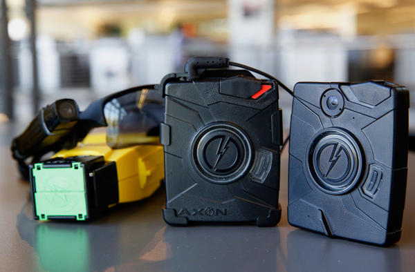 Taser International is now selling police departments the technology to store videos from body cameras.
