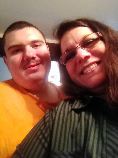Nicholas Wildman and his mom, Mary, in 2015.