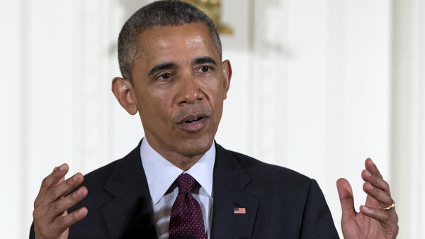 President Obama says China has made inquiries about potentially joining a Trans-Pacific trade agreement in the future.