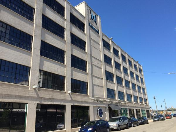 TechTown Detroit is located in an old General Motors factory built in 1927. About 40 small businesses work out of the building.