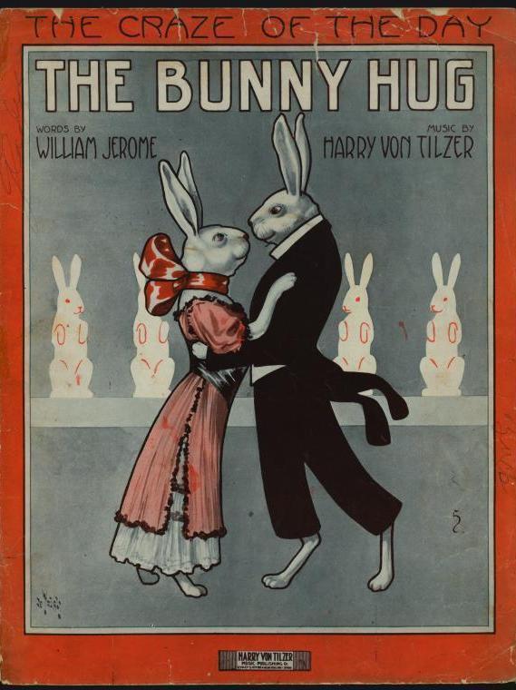 The Bunny Hug sheet music, 1912.