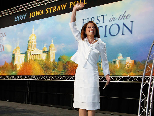 Then-Minnesota Rep. Michele Bachmann won the Iowa Straw Poll in August 2011 but placed last in the caucuses the following January.