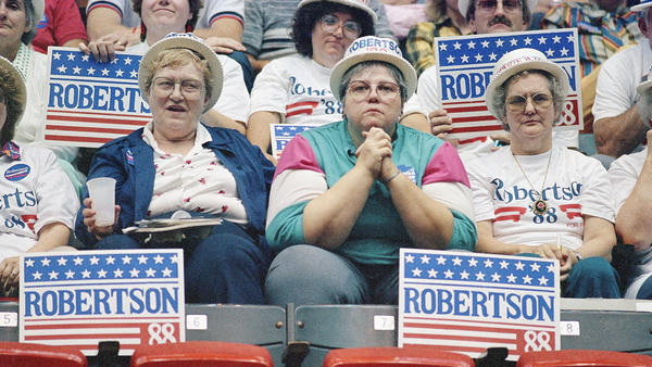 In 1987, evangelical leader Pat Robertson upset the incumbent Vice President George H.W. Bush in the straw poll, showing the increased influence of Christian conservatives in the state and in the national GOP.