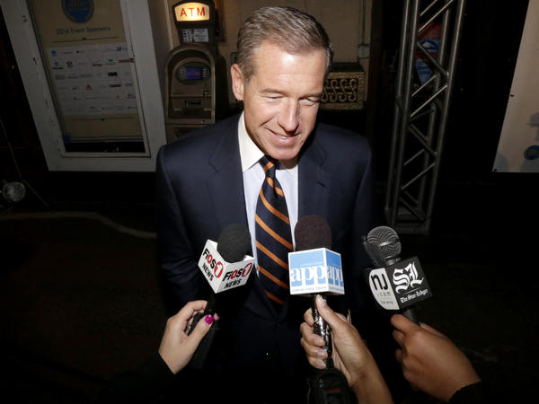 Brian Williams at an event in New Jersey in 2014.