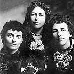 Three of the Cherry Sisters: Addie, Jessie and Effie.