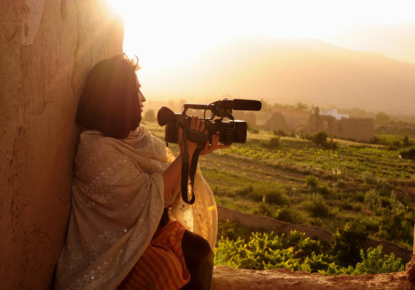 Samar Minallah Khan was honored by Vital Voices for her documentaries on the injustices faced by Pakistani women.