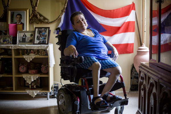 When the power went out during Superstorm Sandy, Melba Torres was trapped in her eighth-floor apartment on the Lower East Side of Manhattan for several days without access to a working elevator.