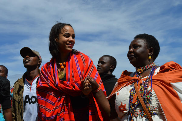 "British actress Zawe Ashton and Agnes Pareyio, who underwent female genital mutilation as a girl in Kenya, are two of the activists featured in <a href=""http://www.bbc.co.uk/programmes/articles/46Cn3NTcR2R8ZPvYKNSKQKb/faces-from-the-anti-fgm-frontline"">""Stop Cutting Our Girls,""</a> a documentary opposing the practice."