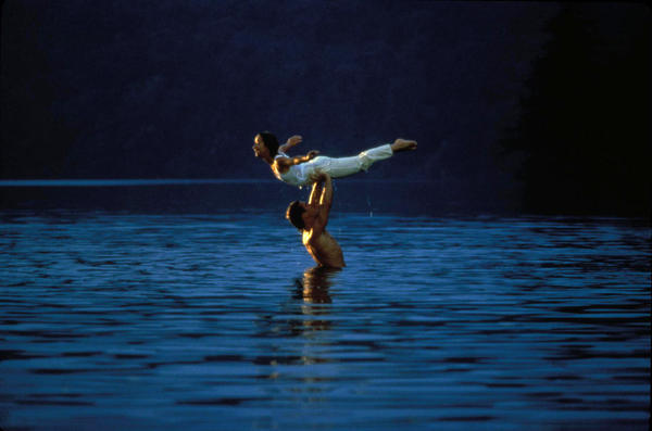 Remember that scene from <em>Dirty Dancing</em> when Patrick Swayze and Jennifer Grey practice their lifts in a lake? Turns out they weren't the only ones in the water; choreographer Kenny Ortega was right there beside them.