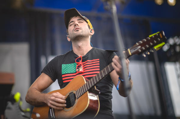 Sufjan Stevens began his 2015 Newport Folk Festival set with songs from his new album, <em>Carrie And Lowell</em>.