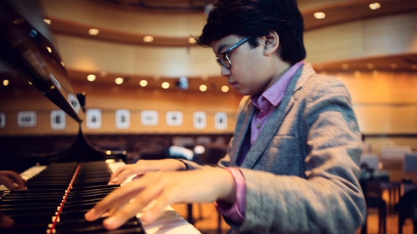 Joey Alexander, 12, recently released his debut album.