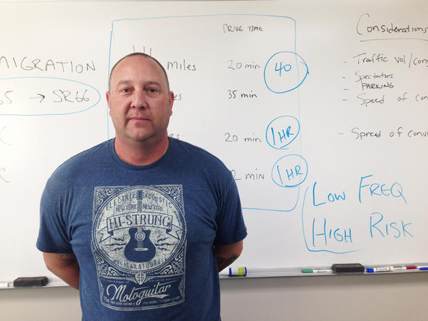 Sgt. Jason Mudrock, a veteran SWAT officer with the Unified Police of Greater Salt Lake.