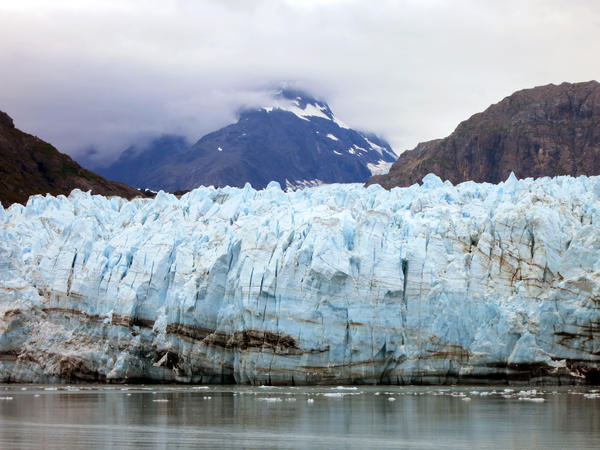 The Margerie Glacier, one of many glaciers that make up Alaska's Glacier Bay National Park. President Obama will visit Alaska Monday to highlight the affects of climate change.